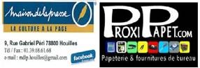 logo Maison de la Presse - Houilles